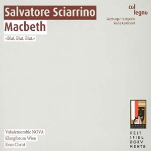 Salvatore Sciarrino - Evan Alexis Christ